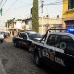 Operativo de búsqueda en Colonia Cuauhtémoc