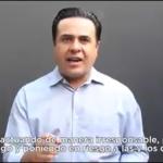 Respalda Luis Nava aplicación de medidas estrictas para evitar COVID-19