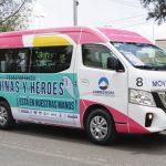 Sigue disponible transporte gratuito para personal de salud