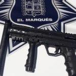 """Policías de El Marqués aseguran al """"Chilanga"""" por cohecho y portación de arma prohibida"""