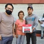 QI entrega kilos de alimentos a franeleros