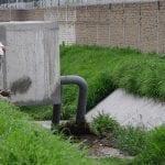 Supervisa Roberto Sosa avance de obra y funcionamiento de infraestructura pluvial