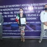 Propone Connie Herrera que ciudadanos influyan en  decisiones de obra