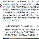 Sismo se alcanzó a sentir en tres municipios de Querétaro
