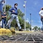 Realiza Roberto Sosa recorrido de supervisión de infraestructura pluvial