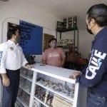 Gobernador y Alcalde supervisan obras del Distrito Alameda