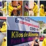 Continúa Querétaro Independiente repartiendo alimento