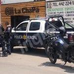 Movilización por robo de una camioneta