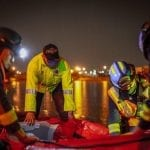 Rescatan a menor que quedó atrapado en colector pluvial Viñedos