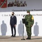 Asiste Gobernador a la Toma de Posesión del nuevo Comandante de la XVII Zona Militar