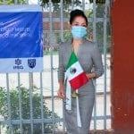 Supervisa Connie Herrera obras de Mejora en Secundaria