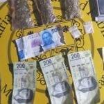 En Cerrito Colorado, detenido en posesión de billetes falsos