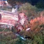 Choque frontal en carretera a Chichimequillas