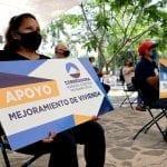 Entregan apoyos para vivienda en Corregidora
