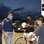 Municipio de Corregidora lleva alumbrado a Presa de Bravo