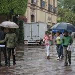 Pronostican lluvias en Querétaro para esta semana
