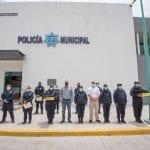 Reconocen labor de policías en El Marqués