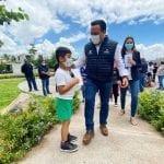 Municipio de Querétaro rehabilita parque de la Loma IX