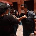 Luis Nava encabezó jornada de promoción de uso de cubrebocas en contra del COVID-19