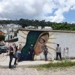 Arte urbano en Victoria Popular