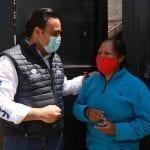 Supervisa Luis Nava entrega de apoyos a vecinos de Laderas de San Pedro