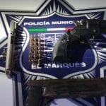 Policías de El Marqués detienen a tres sujetos con armas prohibidas