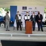 Municipio  firma lineamientos para el registro de vehículos de carga pesada