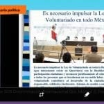 Buscan impulsar Ley de Voluntariado