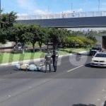 Muere mujer motociclista en accidente sobre Bernardo Quintana