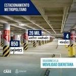 Abre Estacionamiento Metropolitano gratis en agosto y septiembre