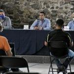 Se reúne Roberto Sosa con ambientalistas
