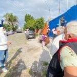 QI ofrece apoyo por contingencia en Menchaca