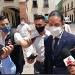 Gobernador pide a Santiago Nieto demostrar con hechos y no con palabras