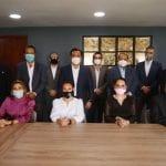 Luis Nava se reúne con representantes del sector de la construcción y profesionistas