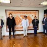 Se reúne Elvia Montes con el titular de Instituto Nacional de Pueblos Indígenas