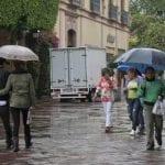 Esperan hoy lluvias moderadas en Querétaro