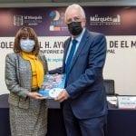 Entrega Enrique Vega Carriles segundo informe de gobierno