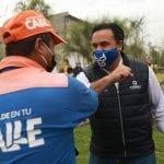 Entrega Luis Nava el nuevo parque de El Romerillal