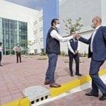 Gobernador y titular del INSABI visitan el nuevo Hospital General