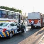 Transporte Público opera con medidas sanitarias para proteger a usuarios y conductores