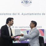 Entrega Roberto Sosa Segundo Informe de Gobierno