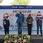 Entrega Enrique Vega Becas Educativas 2020 a estudiantes marquesinos