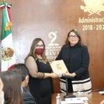 Elvia Montes rinde su Segundo Informe