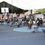 Entrega Luis Nava la rehabilitación del parque en la colonia Calesa