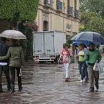Pronostican lluvias fuertes en toda la semana