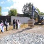 Da arranque Elvia Montes a la construcción de colector de drenaje pluvial