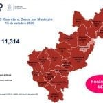 Querétaro con once mil 314 casos de COVID-19