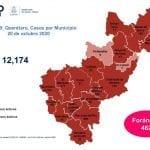 Querétaro con 12 mil 174 casos de COVID-19
