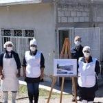 Titular de SEDESU visita a beneficiarios en Colón