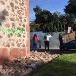 INAH no denunciará a mujeres que pintaron Los Arcos